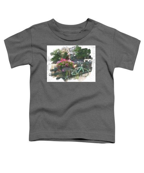 Summer In Amsterdam Toddler T-Shirt