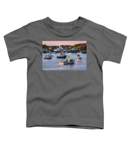 Sundown At Cutler, Maine Toddler T-Shirt