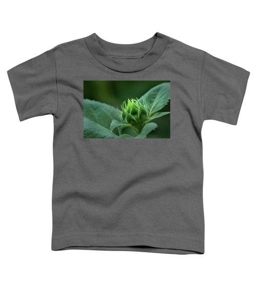 Sunflower Bud Toddler T-Shirt