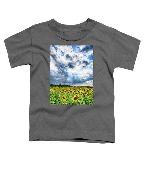 Sunflower Field Toddler T-Shirt