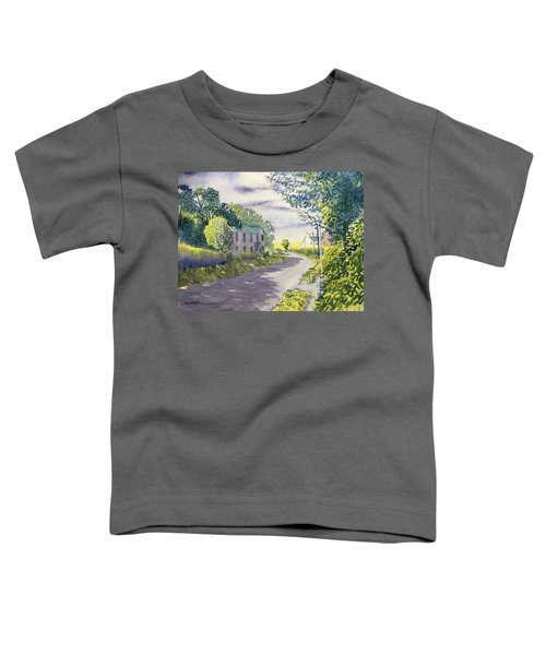 Sunny Side Of The Street Toddler T-Shirt