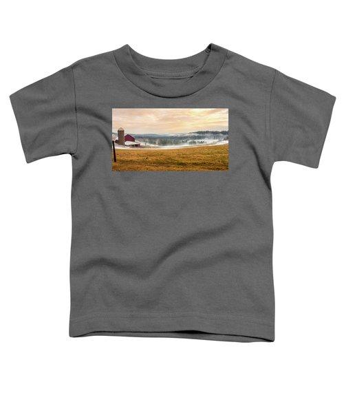 Sunrise On The Farm Toddler T-Shirt