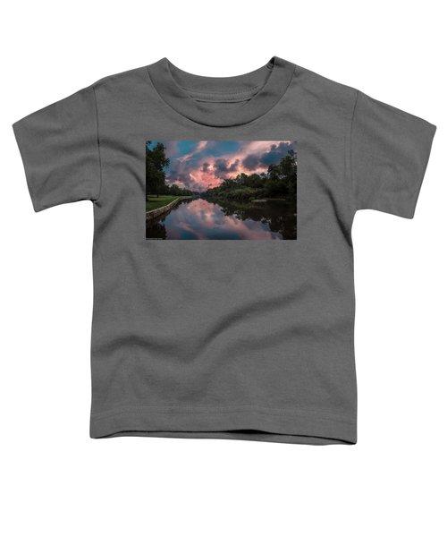 Sunrise On The River Toddler T-Shirt