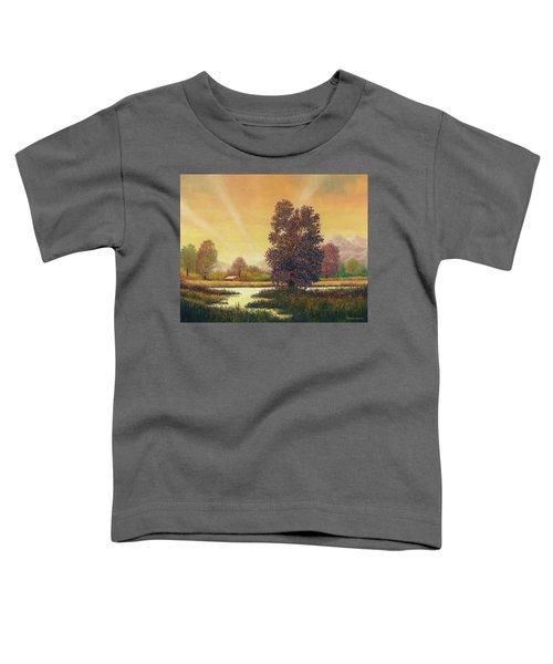 Sunset Color Toddler T-Shirt