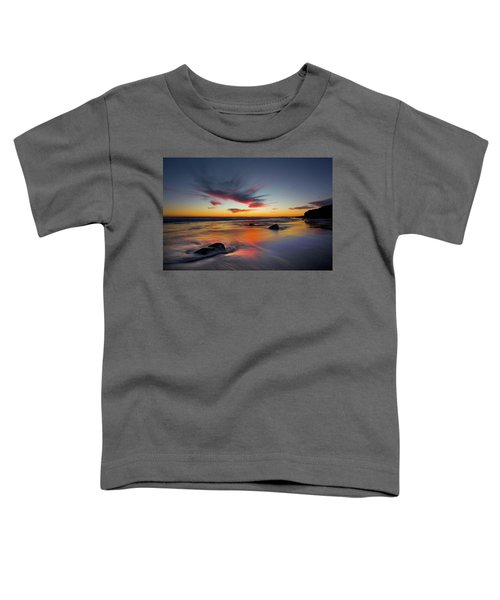 Sunset In Malibu Toddler T-Shirt