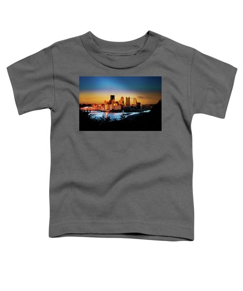 Sunset In The City Toddler T-Shirt