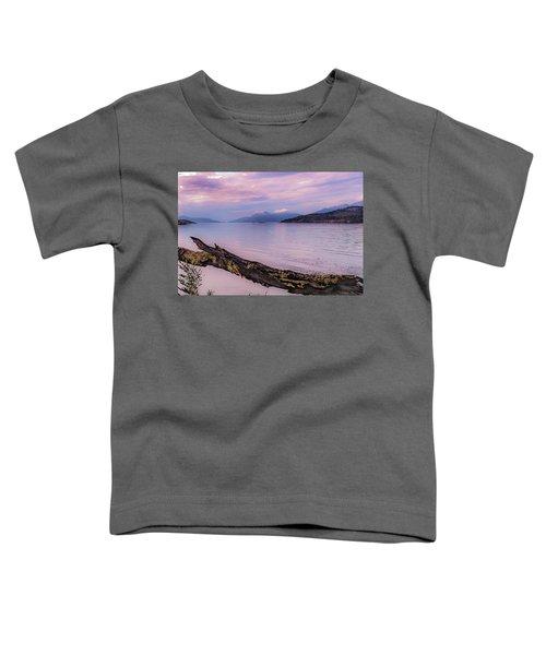 Sunset In Ushuaia Toddler T-Shirt