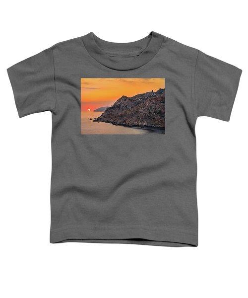 Sunset Near Cape Tainaron Toddler T-Shirt