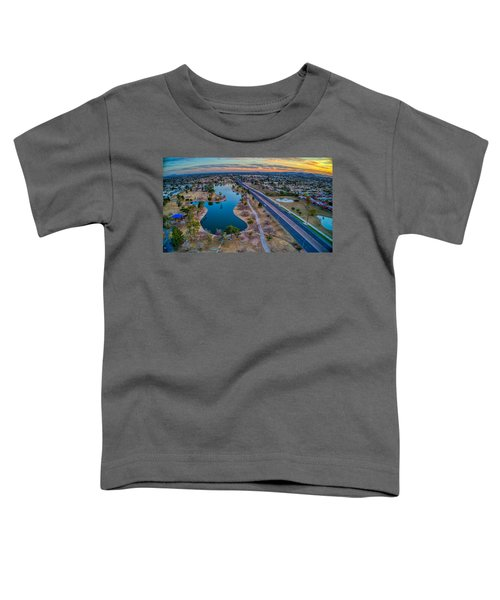 Sunset Over Chaparral  Toddler T-Shirt