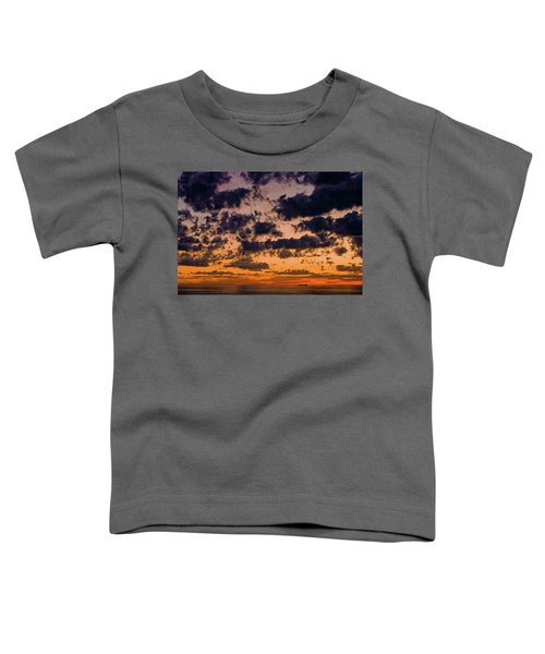 Sunset Over The Indian Ocean Toddler T-Shirt