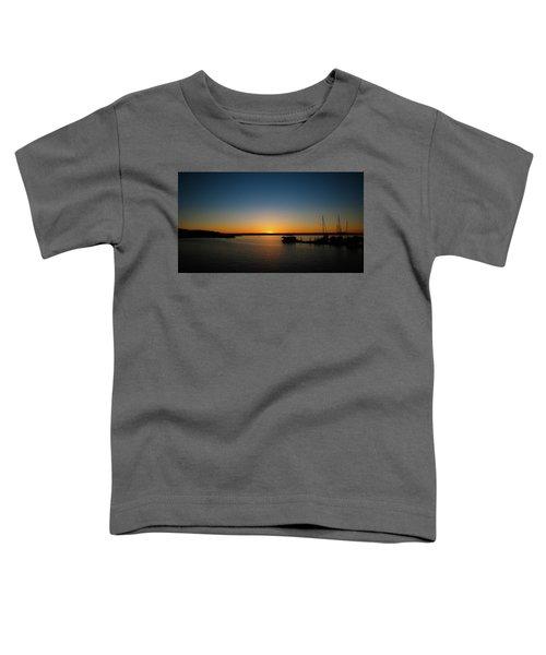 Sunset Over The Potomac Toddler T-Shirt