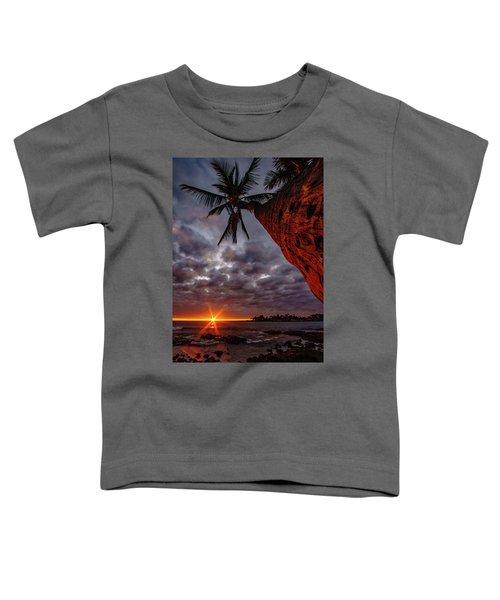 Sunset Palm Toddler T-Shirt