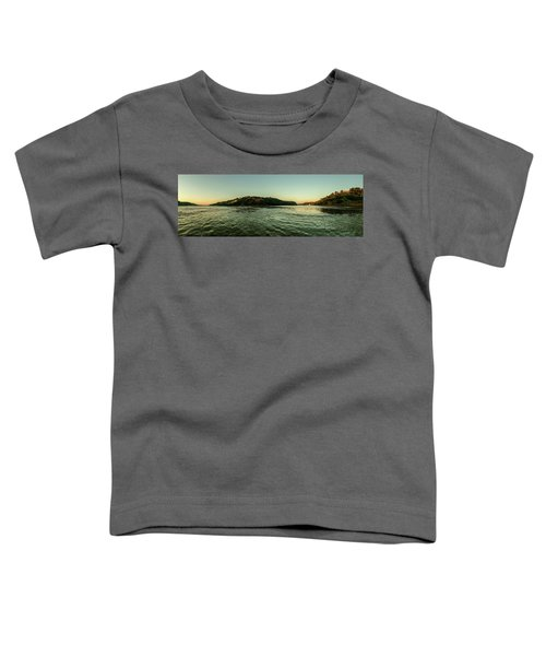 Sunset River Confluence Toddler T-Shirt