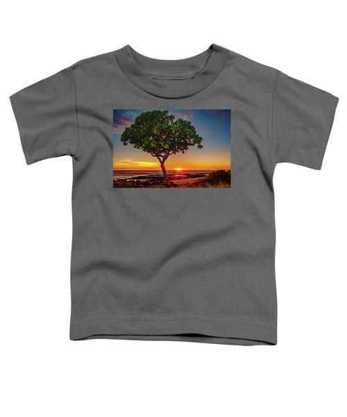 Sunset Tree Toddler T-Shirt