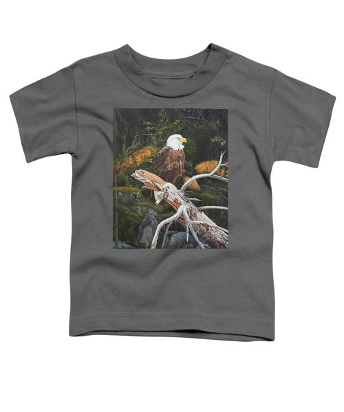 Surveying The Sea Toddler T-Shirt