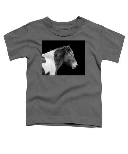 Susi Sole Portrait In Black And White Toddler T-Shirt