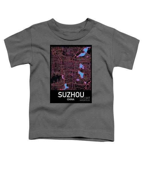 Suzhou City Map Toddler T-Shirt