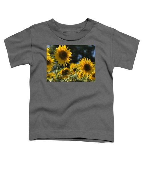 Sweet Sunflowers Toddler T-Shirt