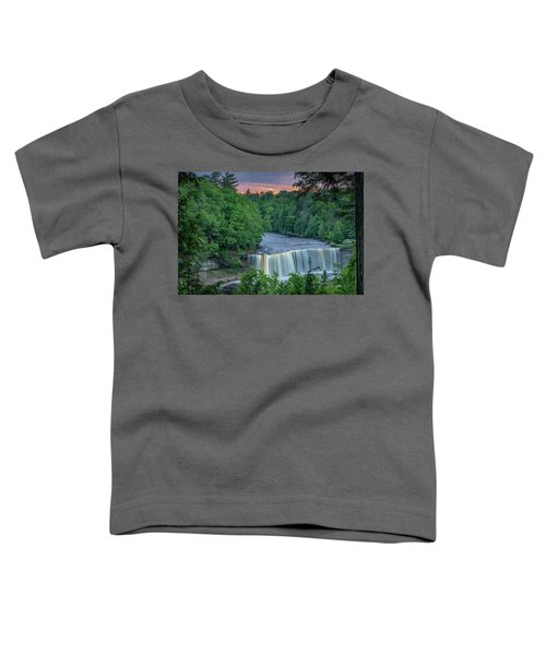 Tahquamenon Falls Sunset. Toddler T-Shirt