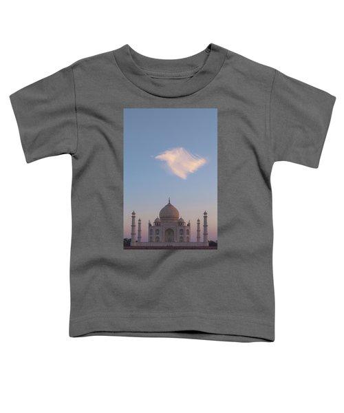 Taj Mahal At Sunset Toddler T-Shirt