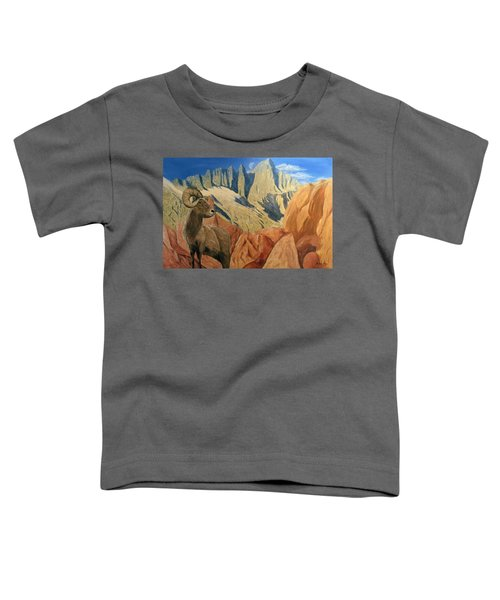 Taking In The Morning Toddler T-Shirt