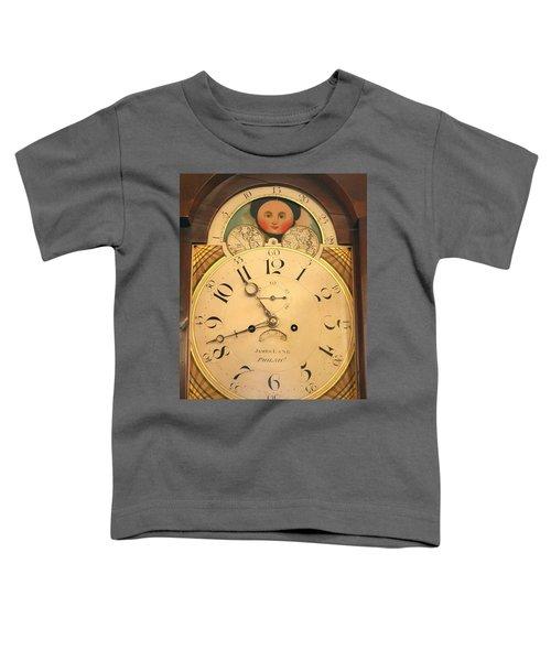 Tall Case Clock Face, Around 1816 Toddler T-Shirt