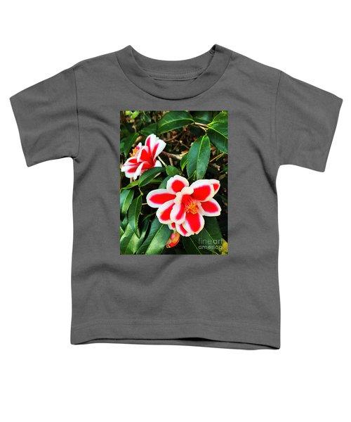 Tama Peacock Twins Toddler T-Shirt