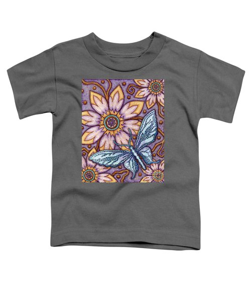 Tapestry Butterfly Toddler T-Shirt