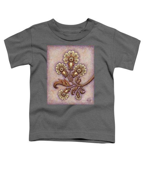 Tapestry Flower 4 Toddler T-Shirt