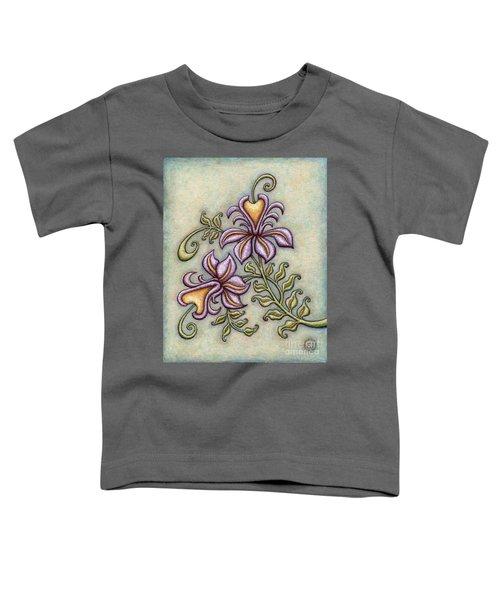 Tapestry Flower 8 Toddler T-Shirt