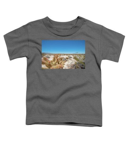 Teddy Bear Cactus Toddler T-Shirt