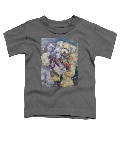 Teddy Bear Honeymooon Toddler T-Shirt