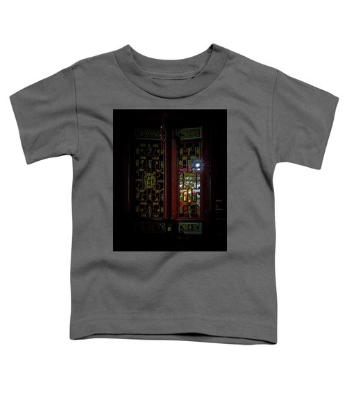 Temple Doorway On Old West Street Toddler T-Shirt