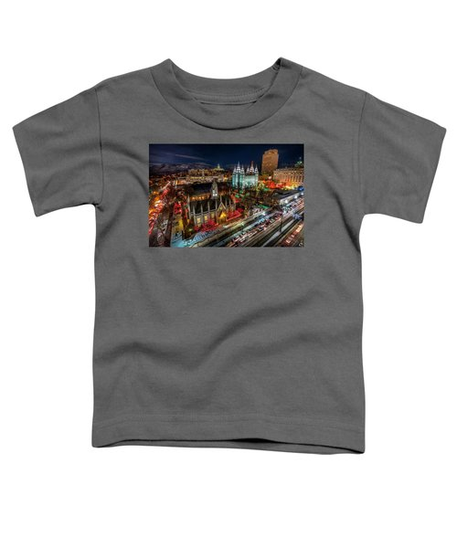 Temple Square Lights Toddler T-Shirt