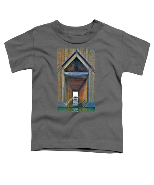 The Cathedral Ore Dock Of Marquette Toddler T-Shirt