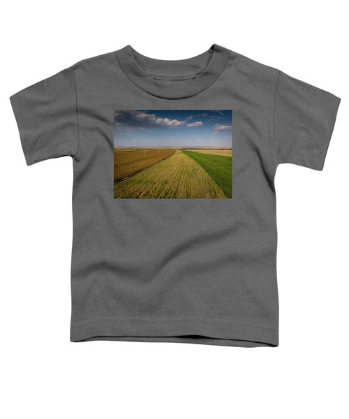 The Colored Fields Toddler T-Shirt