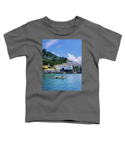 The Colorful Amalfi Coast  Toddler T-Shirt