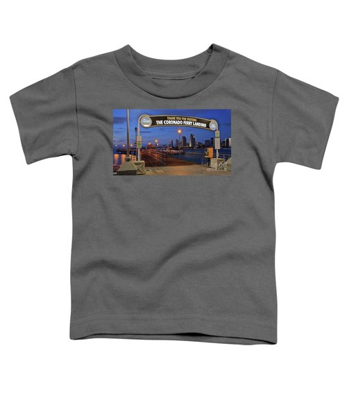The Coronado Ferry Landing Toddler T-Shirt