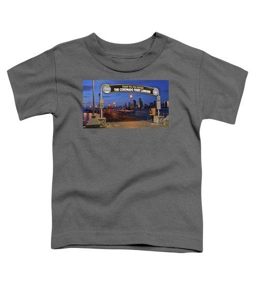 The Coronado Ferry Landing Toddler T-Shirt