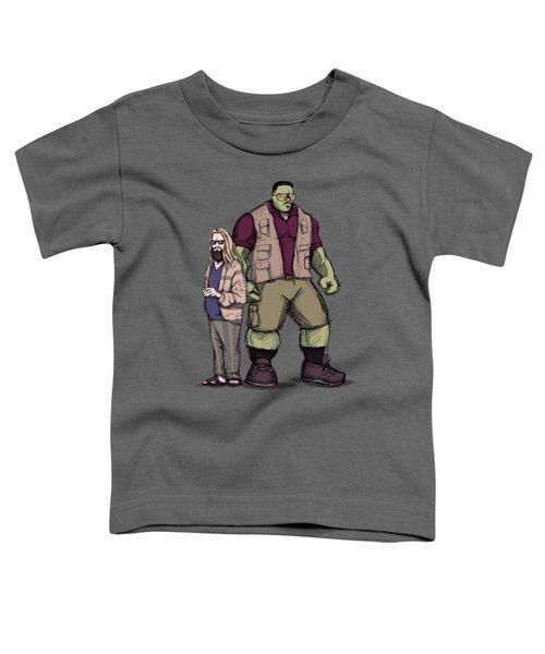 The Dude Of Thunder Toddler T-Shirt