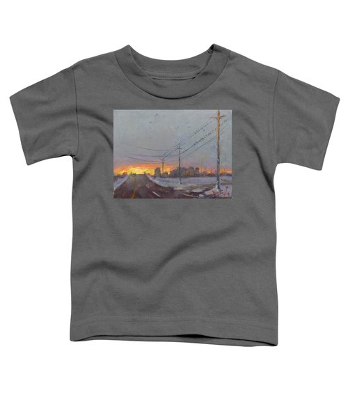 The End Of A Gray Day Toddler T-Shirt