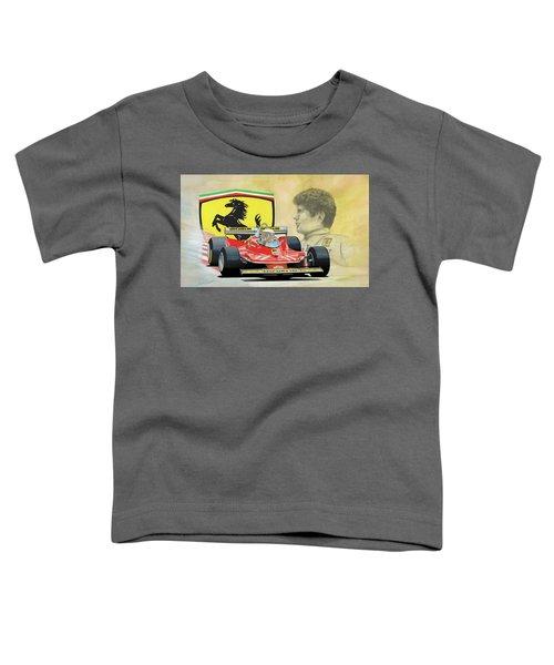 The Ferrari Legends - Jody Scheckter Toddler T-Shirt