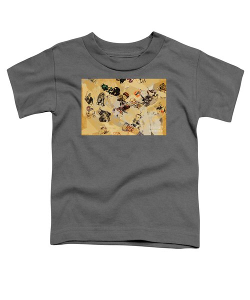 The Force Of Scrapbooking Toddler T-Shirt