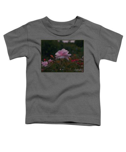 The Glowing Rose Toddler T-Shirt