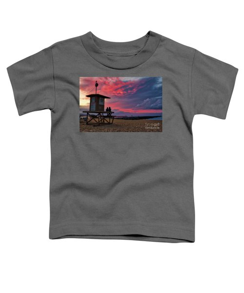 The Last Sunrise Of 2018 At The Wedge Toddler T-Shirt