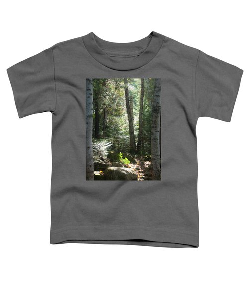Toddler T-Shirt featuring the photograph The Living Forest by Carl Young
