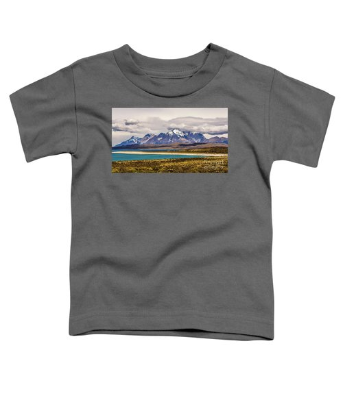 The Mountains Of Torres Del Paine National Park, Chile Toddler T-Shirt