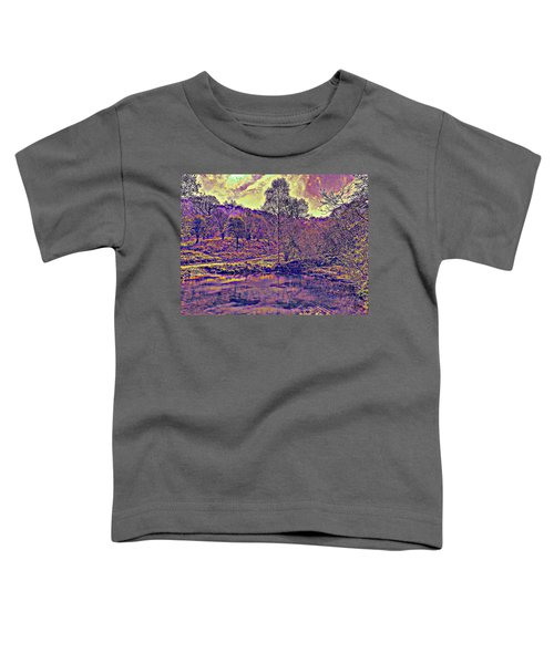 The  Pond  At  Twilight Toddler T-Shirt