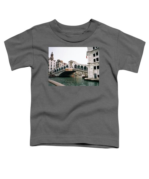 The Rialto Bridge  Toddler T-Shirt