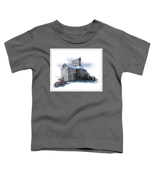 The Ross Elevator Winter Toddler T-Shirt
